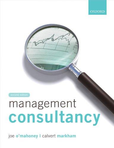 Management Consultancy, by Joe O'Mahoney, Calvert Markham