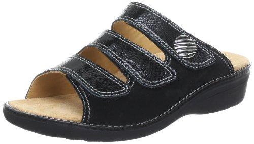 Ganter Hera, Weite H 5-205809-01000, Damen Clogs & Pantoletten, Schwarz (schwarz 0100), EU 37