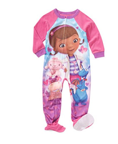 c4a217c341 Doc McStuffins Toddler Pink Fleece Sleeper Pajamas - Import It All