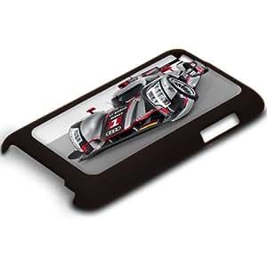 Voitures 10106, Sport Car, Ultra-fine Antichoc Coque Arrière Housse Case Cover Shell Coquille Rigide Noir avec Dessin Coloré pour Apple iPod Touch 4 Génération.