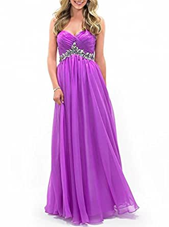 Amazon.com: MIGUOO 2014 Juniors Prom Dresses Plus Size