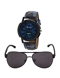 Relish Analog Round Casual Wear Watches For Men - B01A56YNXI