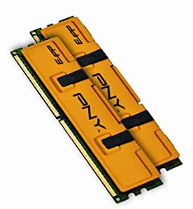 PNY Optima MD4096KD3-1333 4GB Dual Channel Kit DDR3 1333 MHz PC3-10666 Desktop DIMM Memory Kit