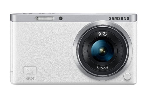 Samsung NX Mini 20.5MP CMOS Smart WiFi & NFC Mirrorless Digital Camera with 9-27mm Lens and 3