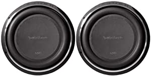 """Pair of (2) Rockford Fosgate P3sd212 12"""" Punch P3 Dual 2 Ohm Voice Coil Shallow Subwoofers with 1600 Watts Peak / 800 Watts RMS"""
