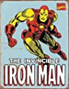 Iron Man Retro Tin Sign  1221516