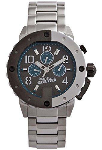 Reloj Jean Paul Gaultier Ref. 8500206 Cabll. Cronometro, Caja y Brazalete acero, Sumergible 100 metros.
