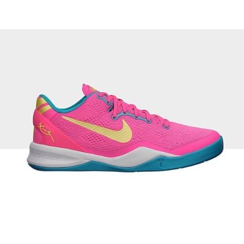 Amazon.com: Nike Kobe 8 (GS) - Digital Pink/Electric Yellow-Neo