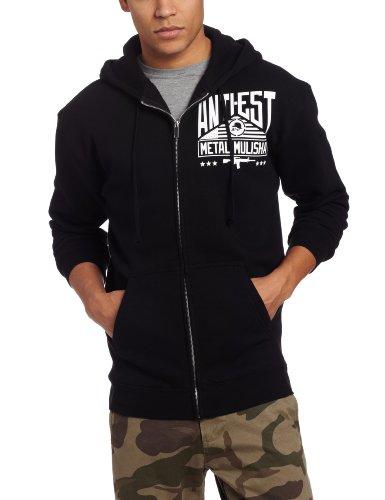 Metal Mulisha - Mens Permit Zip Fleece Hoodie, Size: Medium, Color: Black