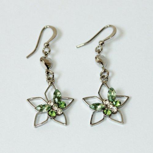 Custom Fashion Jewelry Earrings Green