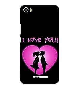 EPICCASE Couple love Mobile Back Case Cover For Lava Iris X8 (Designer Case)