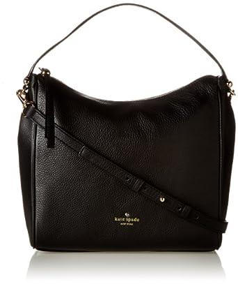 kate spade new york Charles Street Small Haven Shoulder Bag,Black,One Size
