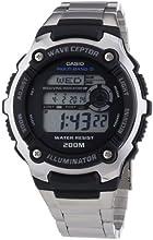 Comprar CASIO WV-200DE-1AVER - Reloj unisex de cuarzo, correa de acero inoxidable color varios colores (con radio, cronómetro, alarma, luz)
