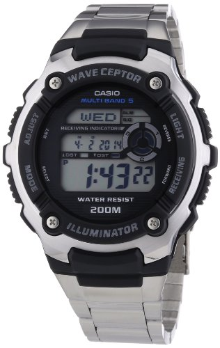 Casio WV-200DU-1AVER Mens Wave Ceptor Illuminator Digital Watch