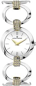 Alpha Saphir Damen-Uhren Quarz  Analog 328E