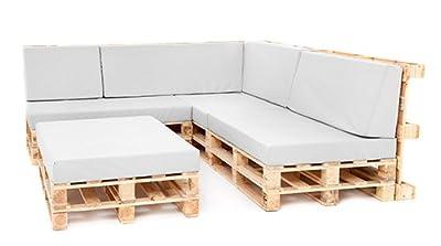 Block Rückenstütze klein Pad für Palette Möbel im Freien-Schaumstoff ohne Bezug von Gardenista - Gartenmöbel von Du und Dein Garten
