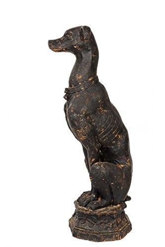 skulptur-windhund-auf-sockel-eisen-figur-30kg-garten-sculpture-iron-greyhound