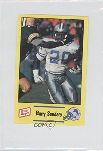 barry-sanders-football-card-1991-oscar-mayer-detroit-lions-police-12