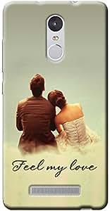 Back Cover For Redmi Note 3(Fashionury)