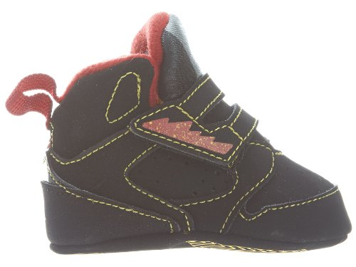 CRIB NIKE JORDAN SIXTY PLUS (365166 071) (2 M, BLACK/VARSITY MAIZE-VRSTY RED)