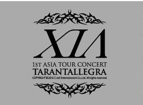 DVD : Xia - 1st Asia Tour Concert (Limited Edition, Boxed Set, Special Packaging, Oversize Item Split, 3PC)