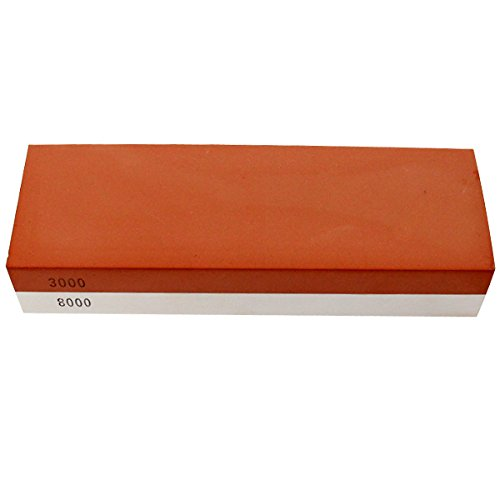 Nestling® 3000/8000 Grit Combination Corundum Whetstone Knife Sharpening Stone / Double Two-Sided Knife Waterstone Sharpener (1000 8000 Grit compare prices)