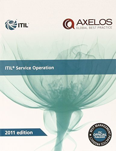 ITIL Service Operation 2011 Edition (Best Management Practice) by Randy A. Steinberg (2011) Paperback (Itil Service Operation 2011 compare prices)