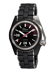 Christian Dior Men's CD085540R001 Chiffre Rouge Diving Steel Black Dial Watch