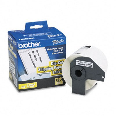 Brother Dk-1202 Paper Shipping Label Roll - Retail Packaging