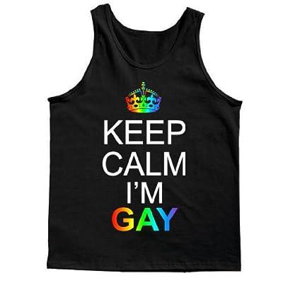 Keep Calm I'm Gay Tank Top