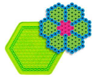 Small Hexagon Pegboard for Perler Fuse Beads
