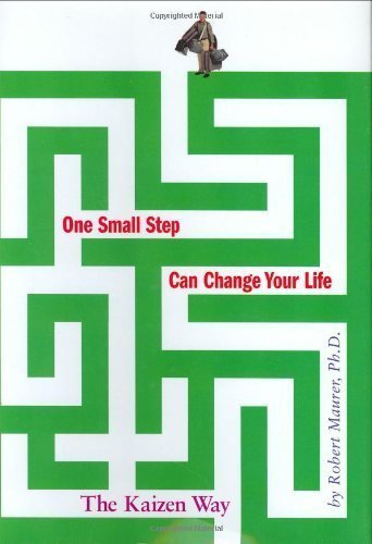 One Small Step Can Change Your Life: The Kaizen Way descarga pdf epub mobi fb2