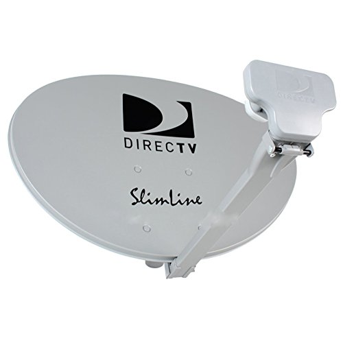 Kaku Slim Line Satellite Dish 99 101 103 Hdtv 3 LNB (Directv Slimline Dish And Lnb compare prices)