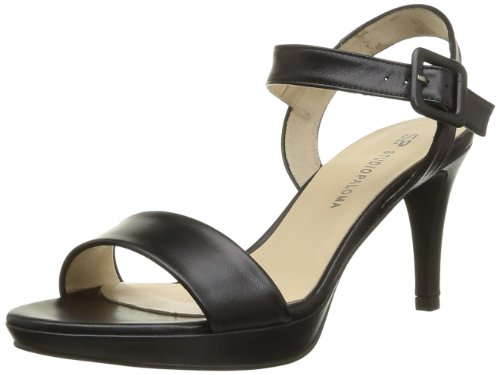 Studio Paloma Women's Nadia Fashion Sandals Black Noir (Alaska Negro) 5 (38 EU)