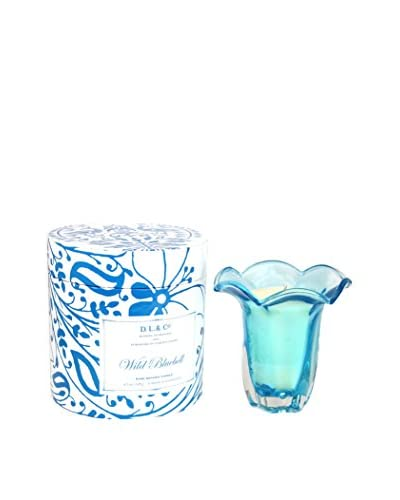D.L. & Co. Wild Bluebell 5-Oz. Tulip Candle
