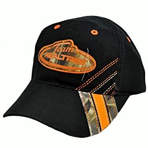 Realtree Black Orange Youth Kids Advantage Max 4 Camo Hunting Camping Hat Cap