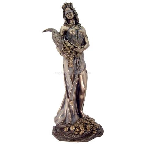 Fortuna, Wall Street - Roman Goddess of Fortune - Bust Sculptures