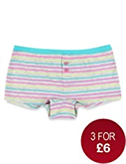 Pure Cotton Neon Striped Boxers