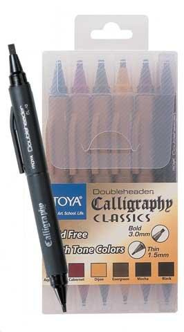 Doubleheader Calligraphy Marker Bp Dijon
