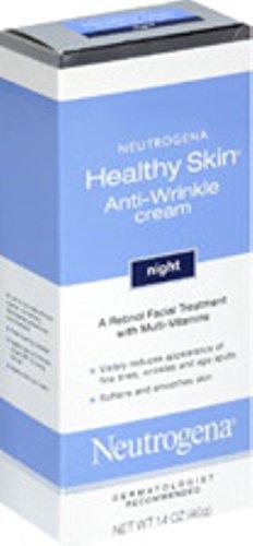 Neutrogena Healthy Skin Anti-Wrinkle Night Cream, 1.4 Ounce (Pack of 2)