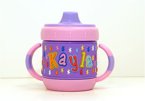 Personalized Sippy Cup: Kayla front-393882