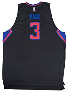 Chris Paul #3 Los Angeles Clippers Adidas Black Swingman Jersey (Size 5X-Large) by adidas