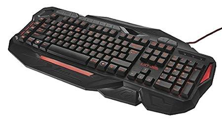 Trust GXT 285 - Teclado Gaming avanzado con iluminación LED