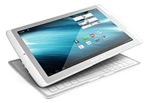Archos 101XS 25,7 cm (10,1 Pollici) Tablet-PC (Touchscreen, ARM Cortex, 1.5 GHz Multicore, 1 GB RAM, 16 GB Flash, Android 4.0) incl. Coverboard bianco/argento