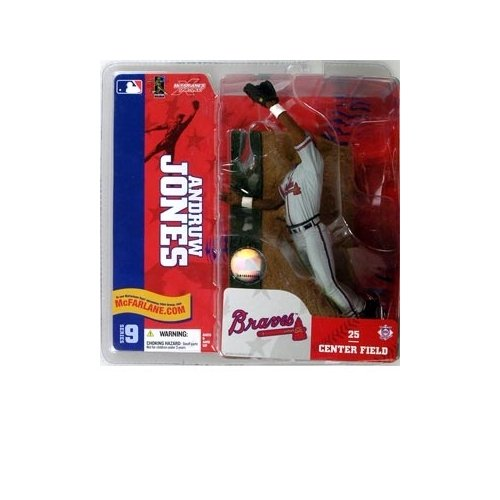 McFarlane Sportspicks: MLB Series 9 Andruw Jones (Chase Variant) Action Figure - 1