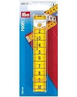 Centimètre Profi avec oeillet 150cm/cm jaune/jaune