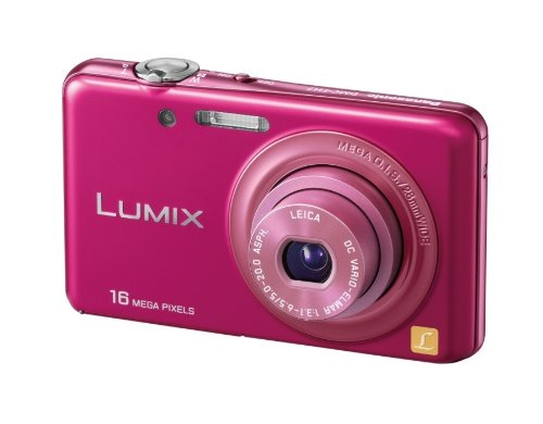 Panasonic デジタルカメラ ルミックス パッションピンク DMC-FH7-P
