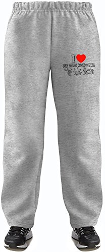 I Love Sex Drugs And Rock'N'Roll Super Soft Kids Lightweight Jog Pants by True Fans Apparel - 80% Organic, Hypoallergenic Cotton & 20% Polyester - Casual & Sports Wear - Perfect Present 14-15 years