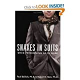 img - for Snakes in Suits:(May 8, 2007) book / textbook / text book