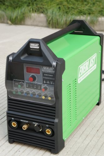 Great Features Of 2014 Everlast PowerTig 200DX 200AMP 110/220 DUAL VOLTAGE PULSE ACDC WELDER